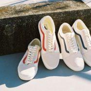 """. VANS """"Vintage White"""" OLD SKOOL VN0A38G1R1T VN0A38G1QKK ¥7,500+tax #vans #oldskool #vintage #gd #ヴァンズ #オールドスクール #ABCマート"""